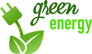 Green Energy Logo Vector