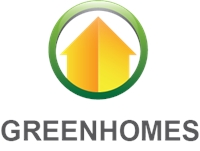 Green Homes Logo Vector