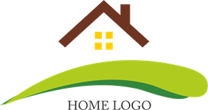 Green House Building Logo Vector