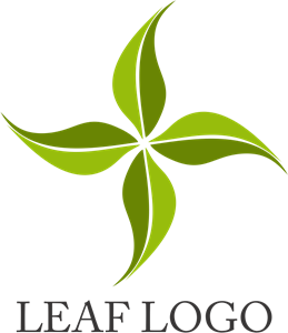 Green Leaf Nature Logo Vector