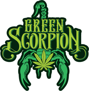 Green Scorpion Logo Vector