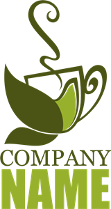 green tea Logo Vector