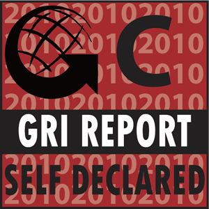 GRI Report Self Declared Logo Vector