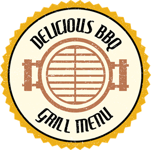 Grill menu Logo Vector