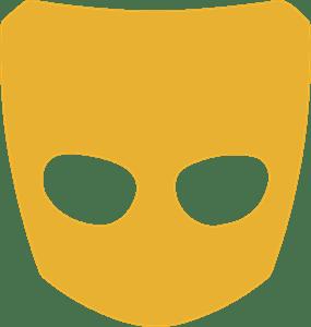 transparent grindr logo