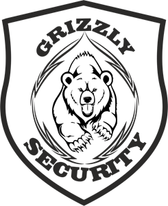 Grizzly Security Logo Vector
