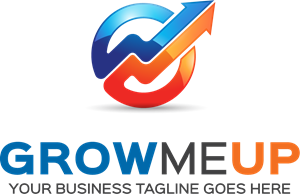 grow me up Logo Vector