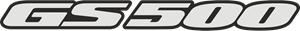 GS 500 Logo Vector