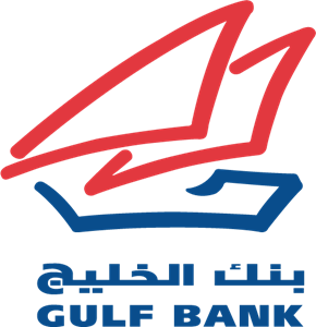 Gulf Bank Logo Vector