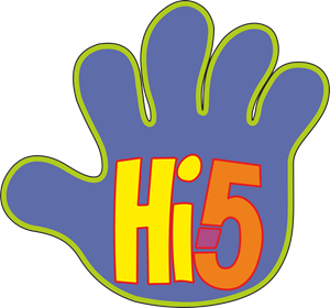 HI5 Kids Logo Vector