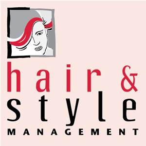 Hair & Style Management Logo Vector