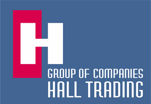 Hall Trading Logo Vector