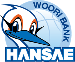 Hanvit Bank Hansae Women's Basketball Team Logo Vector