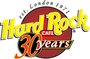 Hard Rock 30 Years Logo Vector