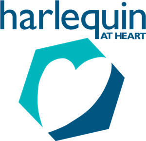 Harlequin At Heart Logo Vector