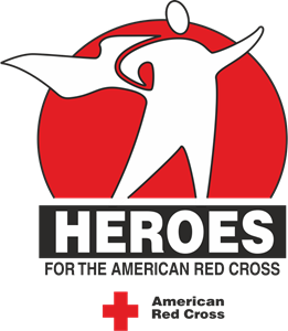 Heroes For the American Red Cross Logo Vector