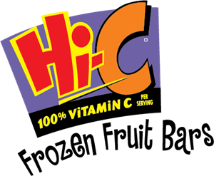 Hi-C Frozen Fruit Bars Logo Vector