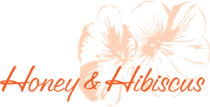 Honey & Hibiscus Logo Vector