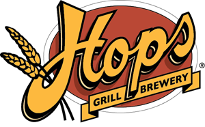 Hops Grill & Brewery Logo Vector
