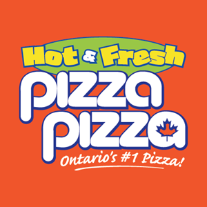 Hot & Fresh Pizza Pizza Logo Vector