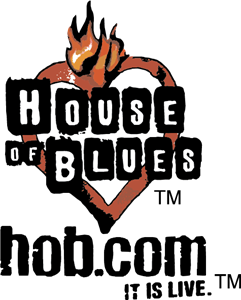 House of Blues Logo Vector