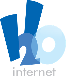 h2o internet Logo Vector