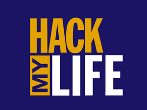 Hack My Life Logo Vector