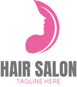 Hair Salon Logo Vector