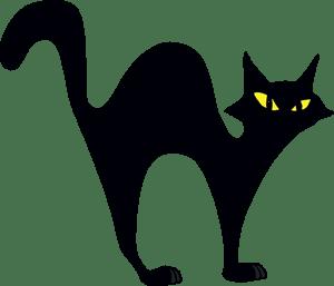 Halloween cat Logo Vector (.EPS) Free Download