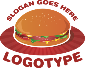 Hamburger Logo Vector