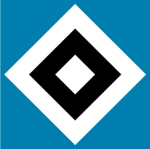 Hamburger SV 1980's Logo Vector
