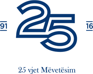 Handball 25th Anniversary Logo Vector
