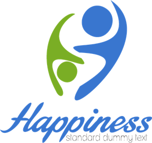 Happiness People Logo Vector