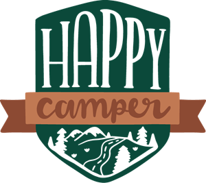 HAPPY CAMPER Logo Vector