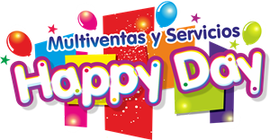 Happy Day Multiventas Logo Vector