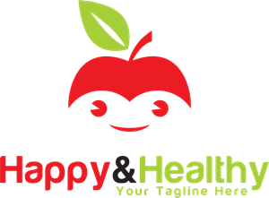 Happy Healthy Logo Vector