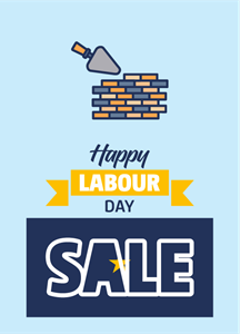 Happy Labour Logo Vector