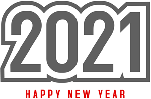 Happy New Year 2021 Logo Vector Eps Free Download