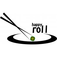 Happy Roll Logo Vector