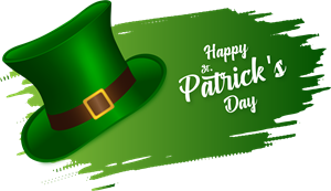 Happy st patricks day Logo Vector