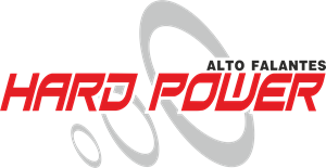 Hard Power alto falante Logo Vector