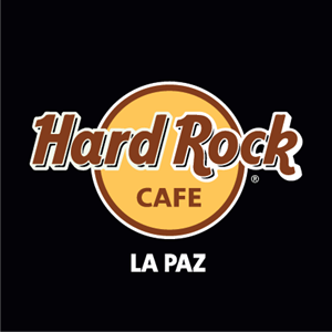 Hard Rock cafe La Paz Logo Vector