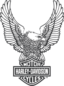 harley logo vectors free download rh seeklogo com harley davidson screamin eagle logo harley davidson eagle logo history