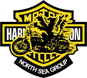 Harley Davidson - North Sea Group Logo Vector