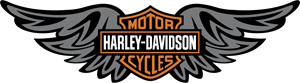 Harley Davidson Wings Logo Vector
