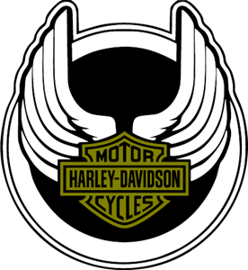 harley davidson wings logo vector eps free download rh seeklogo com harley davidson motorcycles logo vector harley davidson vector logo download