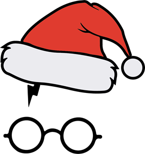 Harry Potter Santa Claus Logo Vector