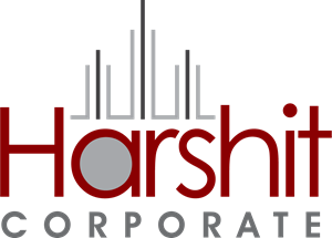 Harshit Corporate Logo Vector