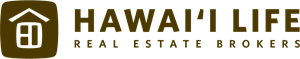 Hawaii Life Real Estate Brokers Logo Vector