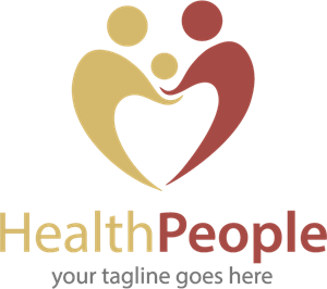 Health People Logo Vector